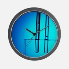 Capillary action of water Wall Clock