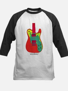 """Neon Red"" Guitar Tee"