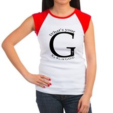 Whats your G? Women's Cap Sleeve T-Shirt
