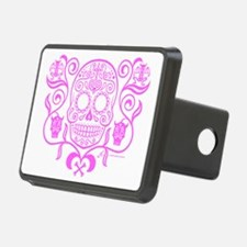 Day of the Dead Sugar Skul Hitch Cover