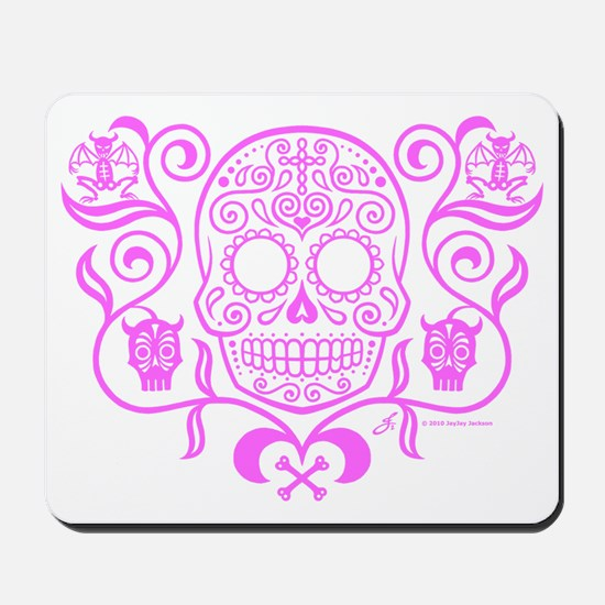 Day of the Dead Sugar Skull Mousepad