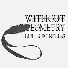 geometryrectangle Luggage Tag