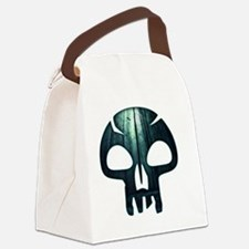 Magic the Gathering Swamp Skull Canvas Lunch Bag