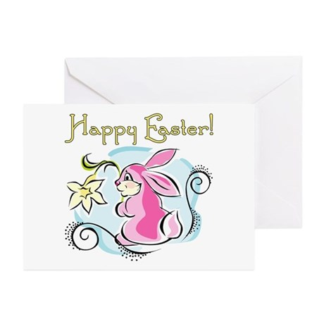 Happy Easter Bunny Greeting Cards (Pk of 10)