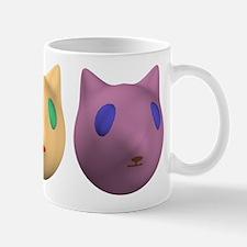 3 Alien Cats Mug