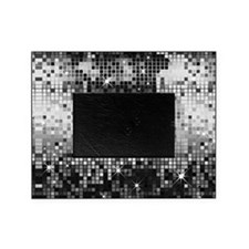 Disco Mirrors in Black and White Picture Frame