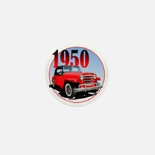 1950 Redjeepster Mini Button