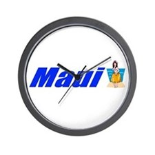 Maui, Hawaii Wall Clock