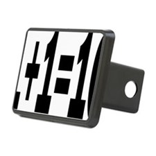 binaryrectangle Hitch Cover