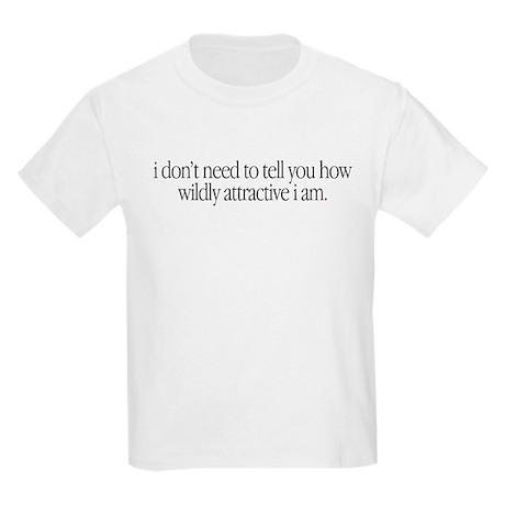 """""""Ruler of all that is Evil"""" Kids Light T-Shirt"""