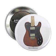 """Edged Black"" Guitar 2.25"" Button (10 pack)"