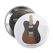 """""""Edged Black"""" Guitar Button"""