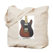 """Edged Black"" Guitar Tote Bag"