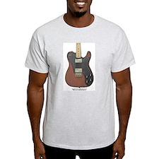 """Edged Black"" Guitar T-Shirt"