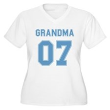 Blue Grandma 07 T-Shirt