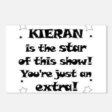 Kieran is the Star Postcards (Package of 8)