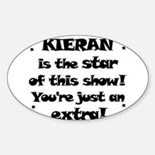 Kieran is the Star Oval Decal