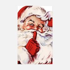 Vintage Santa Decal
