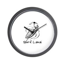 Surf Lanai, Hawaii Wall Clock