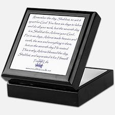 Tree of Life Shabbat commandment Keepsake Box