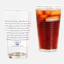 Tree of Life Shabbat commandment Drinking Glass