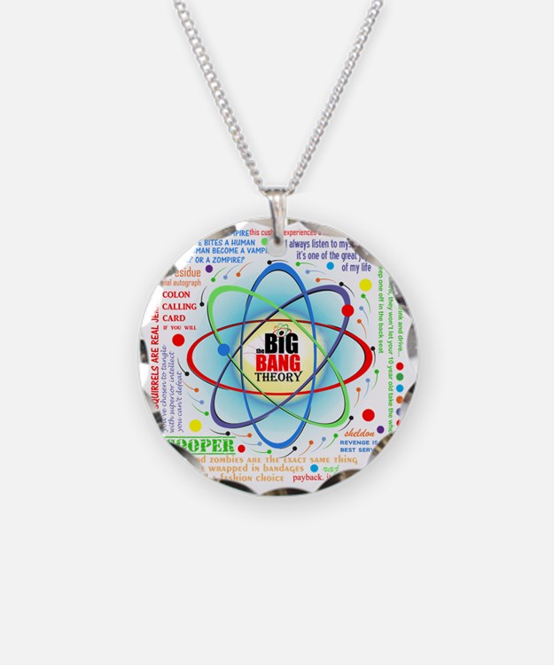 Big Bang Theory New Quotes C Necklace