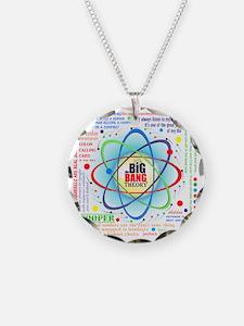 Big Bang Theory New Quotes C Necklace Circle Charm