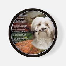 godmadedogs(blanket) Wall Clock