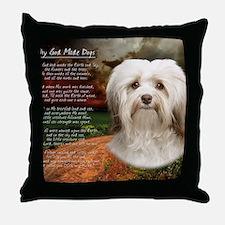 godmadedogs(blanket) Throw Pillow