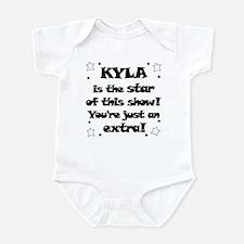 Kyla is the Star Infant Bodysuit