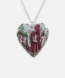 The Lamb of God Necklace Heart Charm