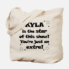 Kyla is the Star Tote Bag