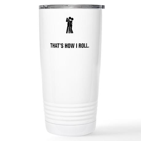 Ballroom-Dancing-ABG1 Stainless Steel Travel Mug