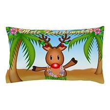 Mele Kalikimaka Deer Pillow Case
