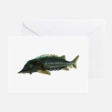 Green Sturgeon Greeting Cards (Pk of 10)