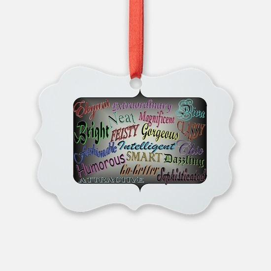 Descriptions Ornament
