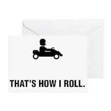 Go-Karting-ABG1 Greeting Card