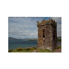Dingle Tower Rectangle Magnet