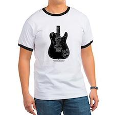 """""""Bad Black"""" Guitar T"""