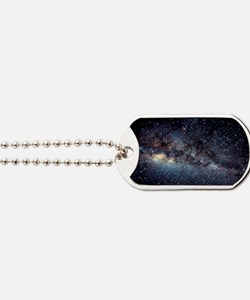 Optical image of the Milky Way in the nig Dog Tags