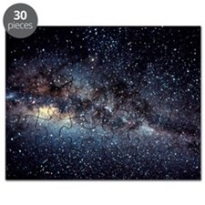 Optical image of the Milky Way in the night Puzzle