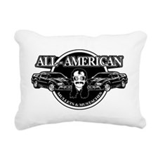 ALL AMERICAN MULLETS  MU Rectangular Canvas Pillow