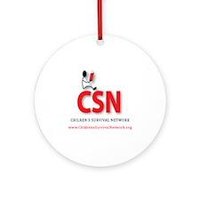 CSN Logo Round Ornament