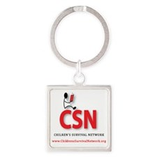 CSN Logo Square Keychain