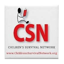 CSN Logo Tile Coaster