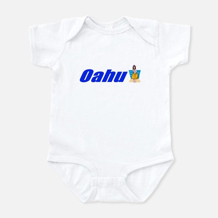 Oahu, Hawaii Infant Bodysuit