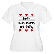 Layla Loves Mommy T-Shirt