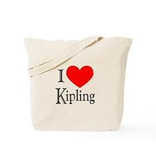I Love Kipling Tote Bag