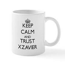 Keep Calm and TRUST Xzavier Mugs