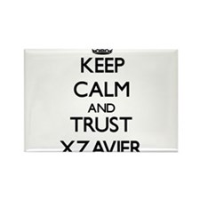 Keep Calm and TRUST Xzavier Magnets